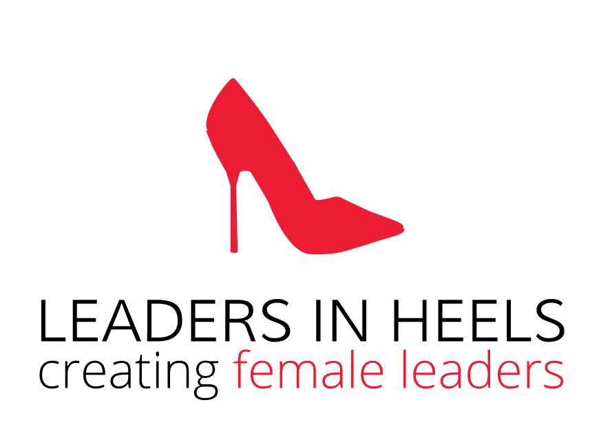 Leaders in Heels logo - tall