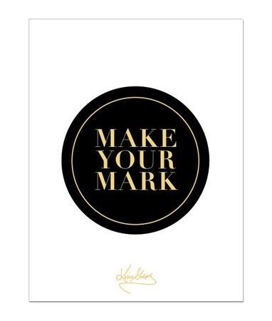 Make Your Mark Notepad